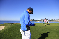 Jordan Spieth (USA) at the 7th green during Sunday's Final Round of the 2018 AT&amp;T Pebble Beach Pro-Am, held on Pebble Beach Golf Course, Monterey,  California, USA. 11th February 2018.<br /> Picture: Eoin Clarke | Golffile<br /> <br /> <br /> All photos usage must carry mandatory copyright credit (&copy; Golffile | Eoin Clarke)
