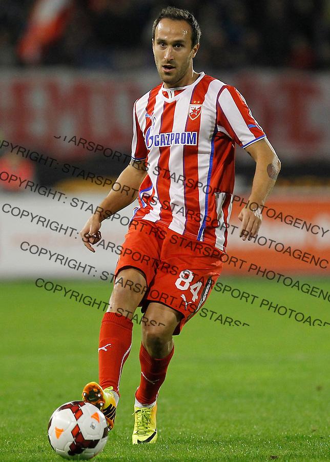 Fudbal Super liga season 2013-2014<br /> Crvena Zvezda v Novi Pazar<br /> Dragan Mrdja<br /> Beograd, 19.10.2013.<br /> foto: Srdjan Stevanovic/Starsportphoto &copy;