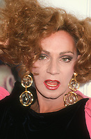 Holly Woodlawn, 1992, Photo By Michael Ferguson/PHOTOlink