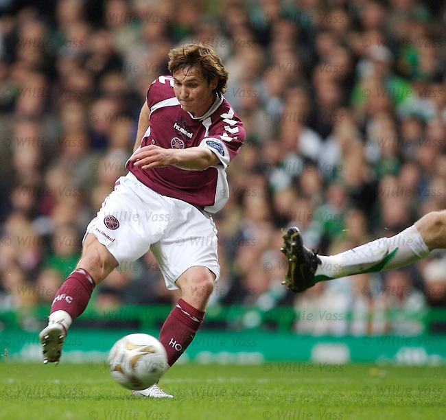 Saulius Mikoliuas, Hearts.stock season 2006-2007.pic willie vass