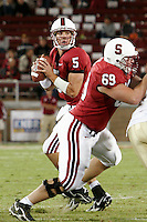 16 September 2006: Trent Edwards during Stanford's 37-9 loss to Navy at the grand opening game of the new Stanford Stadium in Stanford, CA.