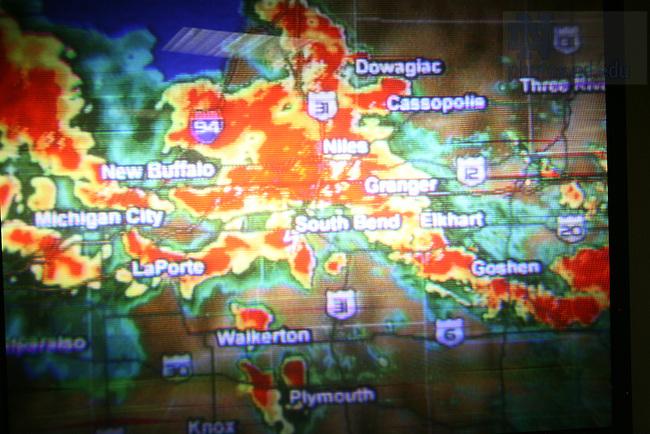 Tornado warning in Keenan-Stanford basement