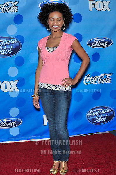 Syesha Mercado at party for the top 12 finalists of 2008 American Idol at the Pacific Design Centre, Los Angeles..March 6, 2008  Los Angeles, CA.Picture: Paul Smith / Featureflash