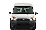 Straight front view of a 2010 Ford Transit XL Wagon