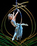 15.01.2016 Cirque Du Soleil performing AMALUNA at The Royal Albert Hall London UK Cerceau Marie-Michelle Faber