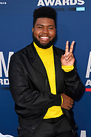 LAS VEGAS, NV - APRIL 7: Khalid attends the 54th Annual ACM Awards at the Grand Garden Arena on April 7, 2019 in Las Vegas, Nevada. <br /> CAP/MPIIS<br /> &copy;MPIIS/Capital Pictures