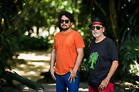 Allan Carvalho e Ronaldo Silva durante sessão de fotos em Belém<br />©Paula Lourinho