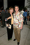 Valerie Harper and husband Tony attends the Opening Night Performance of 'The Paris Letter' at the Laura Pels Theatre in New York City on 6/9/2005