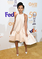 09 March 2019 - Hollywood, California - Logan Browning. 50th NAACP Image Awards Nominees Luncheon held at the Loews Hollywood Hotel. Photo Credit: Birdie Thompson/AdMedia