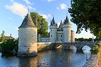 France, Loiret (45), Sully-sur-Loire, patrimoine mondial de l'UNESCO, le château de Sully-sur-Loire  // France, Loiret, Sully sur Loire, listed as World Heritage by UNESCO, the castle of Sully sur Loire