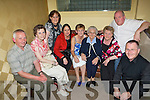 Having a great time at Michael 'Fox' O'Connor's 60th birthday party held in The Brandon Hotel on Saturday night were l/r William Griffin, Marian, Lena & Geraldine Lynch, Catherine Griffin, Theresa Lynch, Theresa & Frank Lean and John Lynch. .   Copyright Kerry's Eye 2008