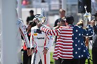2017 IMSA WeatherTech SportsCar Championship<br /> BUBBA burger Sports Car Grand Prix at Long Beach<br /> Streets of Long Beach, CA USA<br /> Saturday 8 March 2017<br /> Bubba Burger Man<br /> World Copyright: Richard Dole/LAT Images