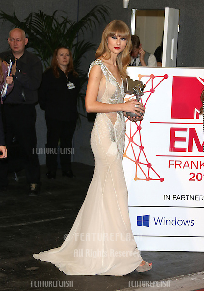 Taylor Swift at The MTV EMA's 2012 held at Festhalle - press room, Frankfurt, Germany. 11/11/2012 Picture by: Henry Harris / Featureflash
