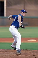 Greg Miller - AZL Dodgers (2009 Arizona League) - pitching a rehab appearance against the AZL Mariners at Camelback Ranch, Glendale, AZ - 08/14/2009..Photo by:  Bill Mitchell/Four Seam Images..