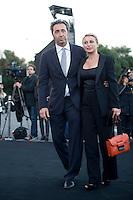 Roma, 5 Giugno, 2013. Paolo Sorrentino con la moglie Daniela D'Antonio al 'One Night Only' Roma organizzato da Giorgio Armani al Palazzo della Civilta Italiana.