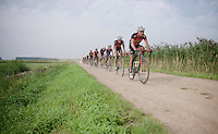 last 'gravel' section of the day<br /> <br /> 90th Schaal Sels 2015