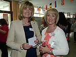 Anita King and Linda Carry pictured at the Class of '83 school reunion at Our Lady's College Greenhills. Photo:Colin Bell/pressphotos.ie