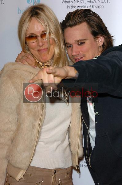 Alana Stewart and Sean Stewart
