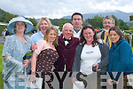 Extras take a break from filming the German movie Mist over Kilrush House at the Killarney Races on Monday. L-r: Gretta ORourke, Tralee, Mary Harnett, Killarney, Susan.Cronin, Killarney, Derek Coakeilm,, Killarney, Thomas McKenzie, Killarney, Margaret McCarthy, Kenmare, Bernard Fitzgerald, Beaufort and Lisa OBrien, Killarney.