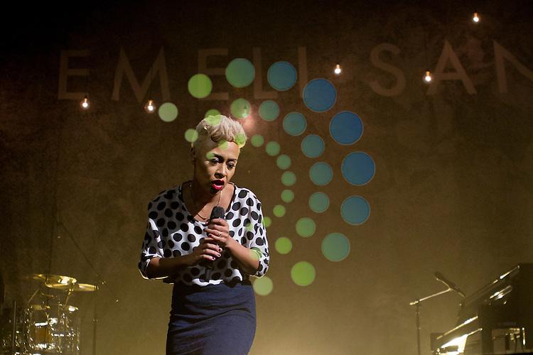 Emili Sande performs at Edinburgh's Usher Hall...Malcolm McCurrach (Universal News and Sport) - 01/04/2013