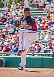 21 March 2015: Atlanta Braves pitcher Juan Jaime on the mound during a Split Squad Spring Training game against the Washington Nationals at Champion Stadium at the ESPN Wide World of Sports Complex in Kissimmee, Florida. The Braves defeated the Nationals 5-2 in Grapefruit League play. Mandatory Credit: Ed Wolfstein Photo *** RAW (NEF) Image File Available ***
