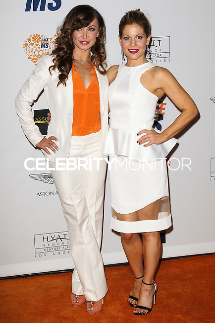 CENTURY CITY, CA, USA - MAY 02: Karina Smirnoff, Candace Cameron Bure at the 21st Annual Race To Erase MS Gala held at the Hyatt Regency Century Plaza on May 2, 2014 in Century City, California, United States. (Photo by Celebrity Monitor)