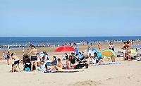 Nederland Scheveningen  2017 .  Dagje naar het strand.    Foto Berlinda van Dam / Hollandse Hoogte