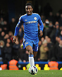 Mikel of Chelsea in action during the Barclays Premiere League match between Chelsea and West Ham United at Stamford Bridge on Sunday March 17, 2013 in London, England Picture Zed Jameson/pixel 8000 ltd.