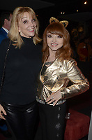 LOS ANGELES - JAN 10:  Teresa Ganzel, Judy Tenuta at the Batman '66 Retrospective and Batman Exhibit Opening Night at the Hollywood Museum on January 10, 2018 in Los Angeles, CA<br /> <br /> Batman '66 Retrospective and Batman Exhibit Opening Night, The World Famous Hollywood Museum, Hollywood, CA 01-10-18