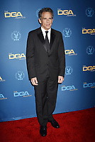 HOLLYWOOD, CA - FEBRUARY 02: Ben Stiller attends the 71st Annual Directors Guild Of America Awards at The Ray Dolby Ballroom at Hollywood & Highland Center on February 02, 2019 in Hollywood, California.<br /> CAP/ROT/TM<br /> ©TM/ROT/Capital Pictures