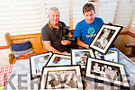 James McCarthy and Mike O'Neill  getting ready for the opening of the Fenit Development Association Photographic exhibition 'Faces of Fenit' at the Parish Centre on Saturday 13th February at 7.30