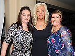 Melissa Carey, Norma Woods and Denise Collins enjoying a night out at Barroco in the Westcourt hotel. Photo: Colin Bell/pressphotos.ie