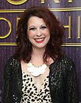 """Kirsten Wyatt backstage after a Song preview performance of the Bebe Winans Broadway Bound Musical """"Born For This"""" at Feinstein's 54 Below on November 5, 2018 in New York City."""