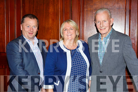 St Brendans/Oakpark John, Christy and Xavier Murray at the Kerry Community games awards in the River Island Hotel on Friday night
