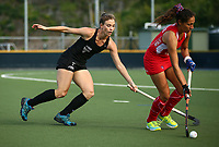 Shiloh Gloyn. Blacksticks Women's training game v Chile ahead of the 2019 FIH International Pro League Tournament, Grammar Hockey Turf, Auckland, New Zealand. Monday 17  December 2018. Photo: Simon Watts/Hockey NZ
