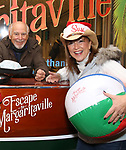 Jimmy Buffett offically opens up the Box Office for his Broadway Musical  'Escape To Margaritaville' at the Marquis Theatre on December 8, 2017 in New York City.