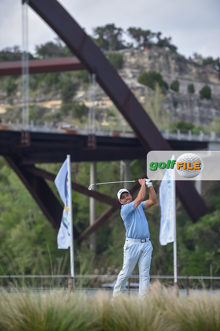 Francesco Molinari (ITA) watches his tee shot on 13 during day 3 of the WGC Dell Match Play, at the Austin Country Club, Austin, Texas, USA. 3/29/2019.<br /> Picture: Golffile | Ken Murray<br /> <br /> <br /> All photo usage must carry mandatory copyright credit (© Golffile | Ken Murray)