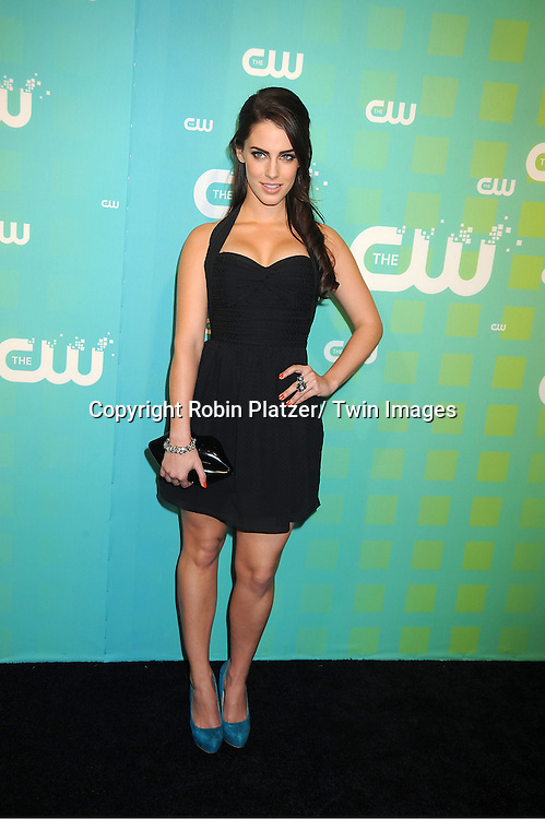 "Jessica Lowndes of ""90210"" attends The CW Network's 2012 Upfront Presentation on May 17, 2012 at New York City Center in New York."