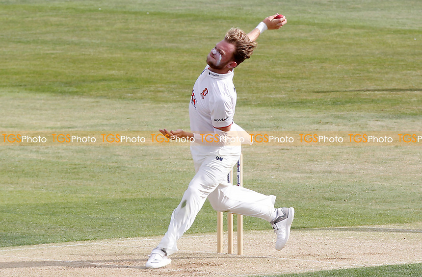 Sam Cook of Essex in bowling action during Essex CCC vs Kent CCC, Bob Willis Trophy Cricket at The Cloudfm County Ground on 1st August 2020