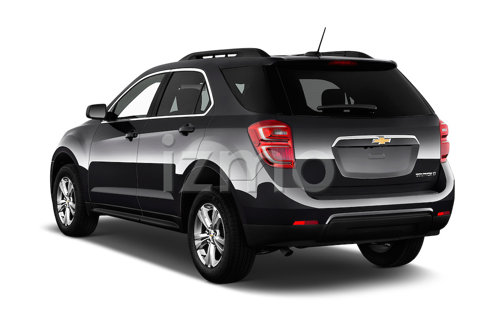 Car pictures of rear three quarter view of 2016 Chevrolet Equinox LT 5 Door Suv Angular Rear