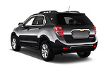 Car pictures of rear three quarter view of 2017 Chevrolet Equinox LT 5 Door Suv Angular Rear