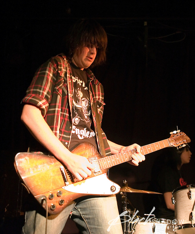 The Strays performing at the Robbie Watts Benefit concert, The Corner Hotel, 29 July 2006