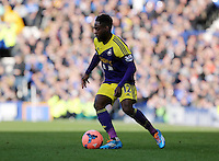 Pictured: Nathan Dyer of Swansea. Sunday 16 February 2014<br />