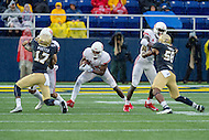 Annapolis, MD - OCT 8, 2016: Houston Cougars wide receiver Linell Bonner (15) in action during game between Houston and Navy at Navy-Marine Corps Memorial Stadium Annapolis, MD. The Midshipmen upset #6 Houston 46-40. (Photo by Phil Peters/Media Images International)