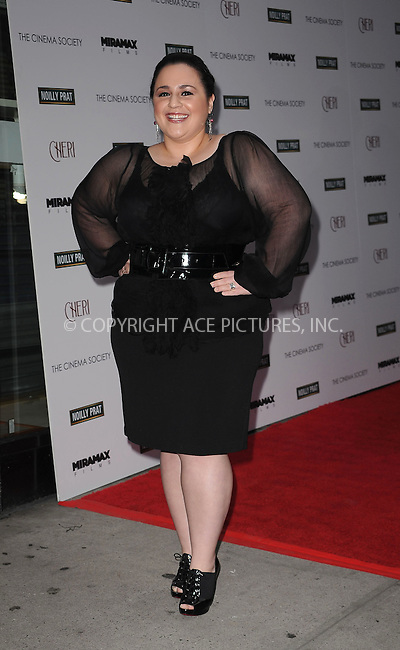 WWW.ACEPIXS.COM . . . . . ....June 16 2009, New York City....Actress Nikki Blonsky at a screening of 'Cheri' at the Directors Guild of America Theater on June 16, 2009 in New York City.....Please byline: KRISTIN CALLAHAN - ACEPIXS.COM.. . . . . . ..Ace Pictures, Inc:  ..tel: (212) 243 8787 or (646) 769 0430..e-mail: info@acepixs.com..web: http://www.acepixs.com