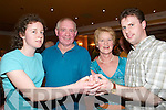 Set Dancing: At the Comhaltas Ceili in the Arms Hotel, Listowel, on Saturday night were Josephine Foster and John Kennelly, Limerick, Josie Molyneaux, Listowel, and Ultan Mulcahy, Templeglantine..