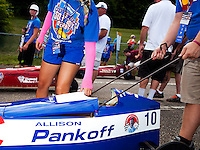 The 77th All American Soap Box Derby in Akron Ohio