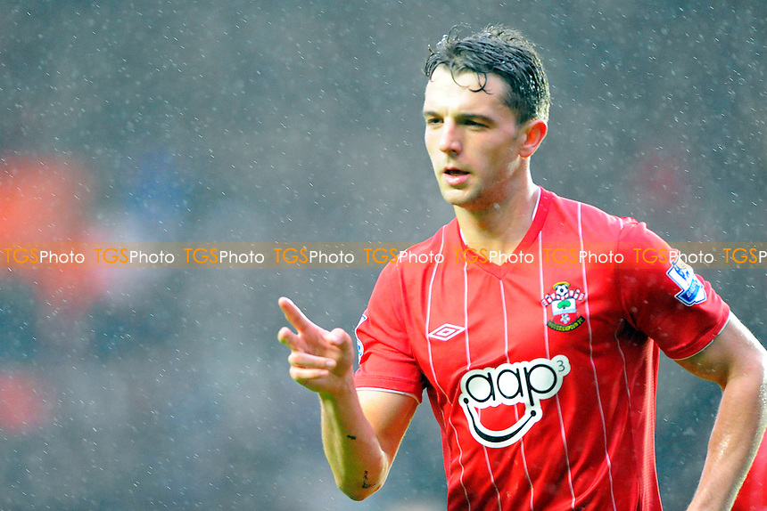 Jay Rodriguez of Southampton - Southampton vs Liverpool - Barclays Premier League Football at St Marys Stadium, Southampton, Hampshire - 16/03/13 - MANDATORY CREDIT: Denis Murphy/TGSPHOTO - Self billing applies where appropriate - 0845 094 6026 - contact@tgsphoto.co.uk - NO UNPAID USE.