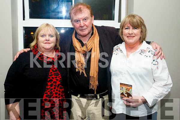 Mary Long, Francie Conway  and Nora Nolan at the The Troubadour Club in The Ashe Hotel on Friday night