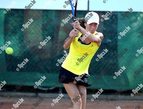 2011-08-19 / Tennis / seizoen 2011 / Stad Antwerpen / Lana Groenvynck..Foto: mpics